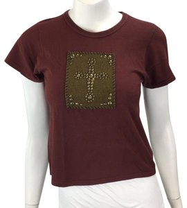 The Great China Wall T Shirt red