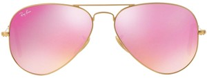 Ray-Ban Ray-Ban Cyclamen Flash Gold Tone Frame Unisex Sunglasses-RB3025 112 4T