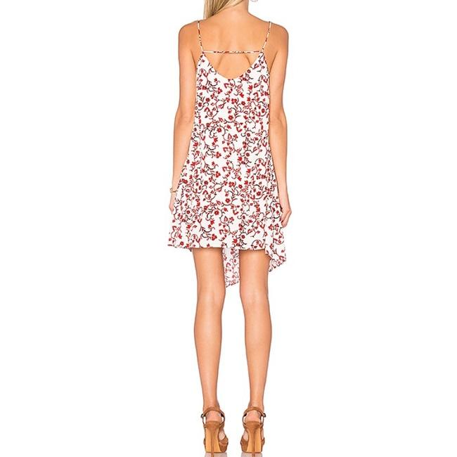 The Fifth Label short dress Red Floral Print on Tradesy Image 2