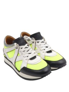 Jimmy Choo London Low Top Sneakers London Low Tops Yellow Green Athletic