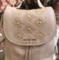 Michael Kors Leather Pale Blue 191935543530 Backpack Image 2