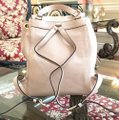 Michael Kors Leather Pale Blue 191935543530 Backpack Image 3