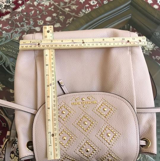 Michael Kors Leather Pale Blue 191935543530 Backpack Image 8
