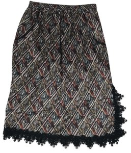 Custo Barcelona Skirt Multi Color