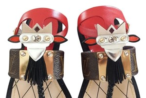 Louis Vuitton Limited Edition Monogram Sandals