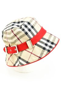 "Burberry ""Nova Check"" Bucket/Crusher Hat Sz: L"