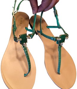 Bamboo Stones Green Sandals