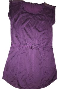 A|X Armani Exchange short dress purple on Tradesy