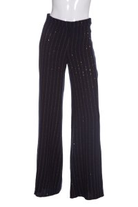 Daniela Corte Wide Leg Pants Navy