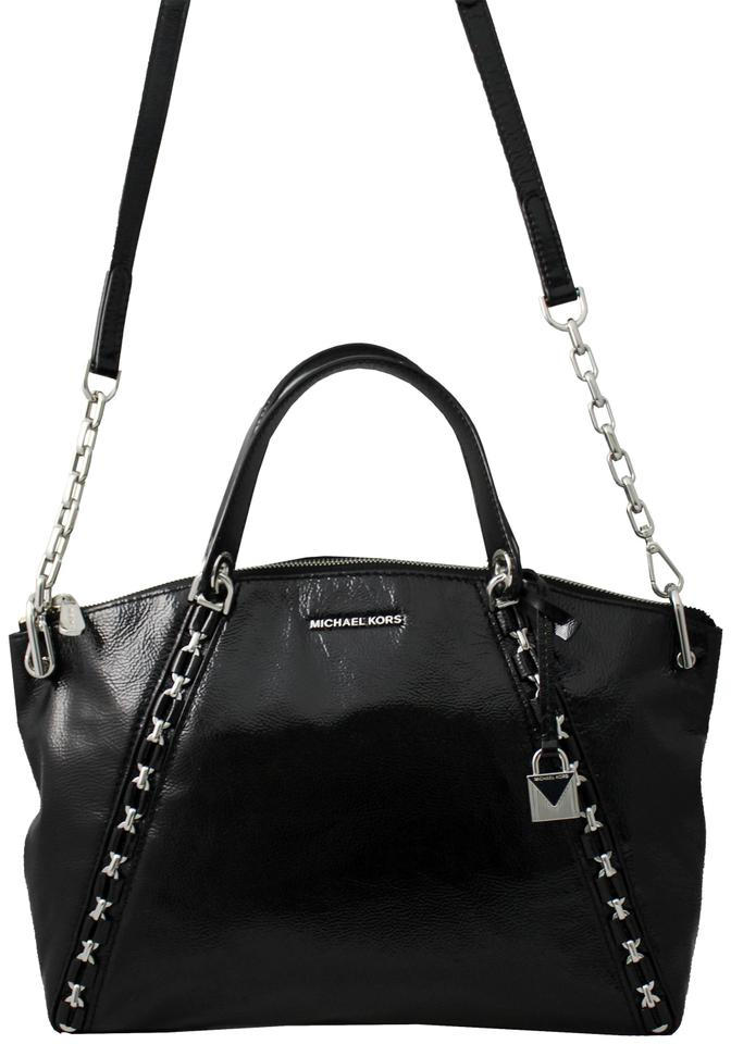 9d79958aeef5 Michael Kors Sadie Large Chain Black Leather Satchel - Tradesy