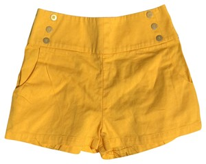 Lucca Couture Mini/Short Shorts yellow