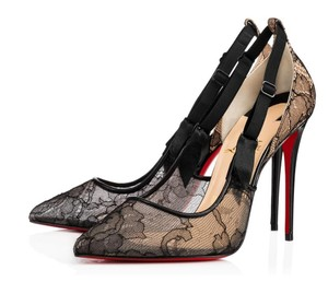 Christian Louboutin Lingerie Lace Sexy Heels Rare black Pumps