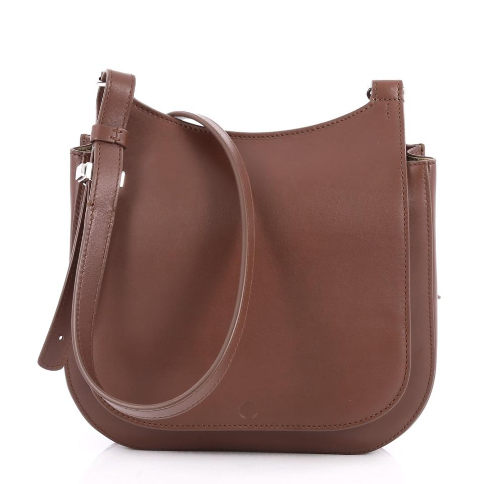 The Row Thew Crossbodybag Leather Cross Body Bag