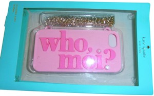 Kate Spade Kate Spade New York Who Moi? Miss Piggy i phone Case w/removable chain