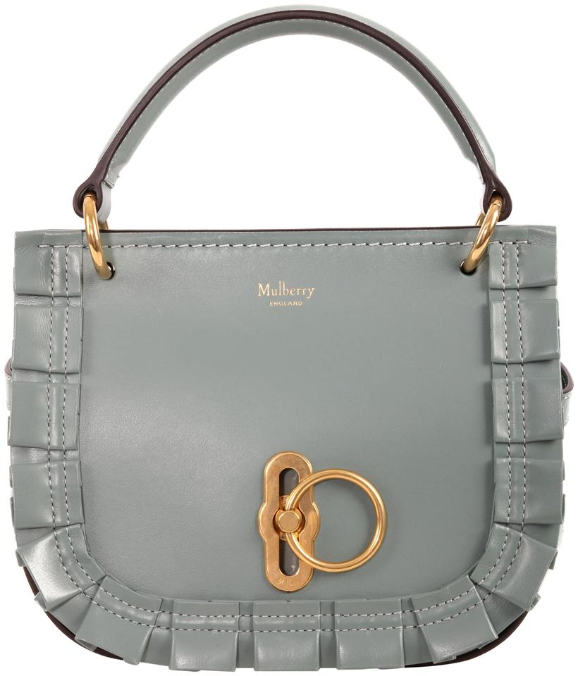 Mulberry Amberley Blue Leather Tote - Tradesy a9711205081e5