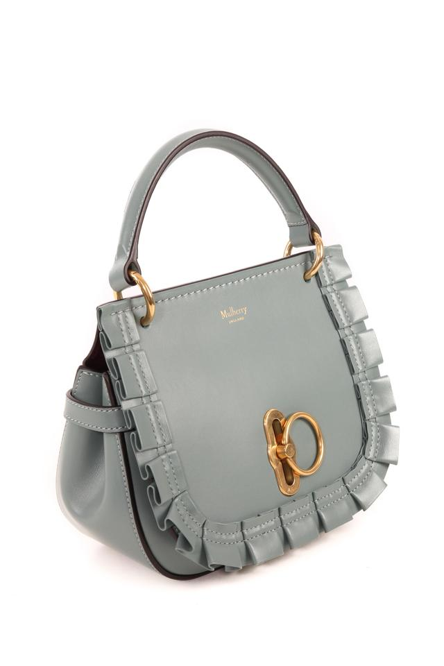 26eb4e25d35c Mulberry Amberley Blue Leather Tote - Tradesy