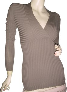 Carmen Marc Valvo Top dark olive green or as pictured