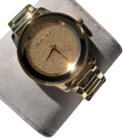 eca497da4780 Michael Kors Gold-tone Ladies Kinley Pave Watch - Tradesy