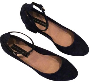 Steven by Steve Madden Navy Blue Pumps