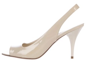 Tod's Heels Creme/Off White Pumps