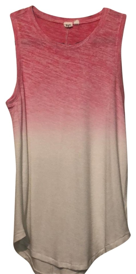 628155c6c5f Gap Pink/White Sleeveless Ombré Tank Top/Cami Size 0 (XS) 48% off retail