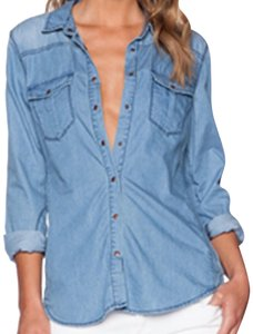 3d7a2716c424 BlankNYC Button-Downs - Up to 70% off a Tradesy