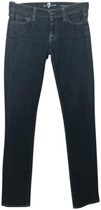 7 For All Mankind Skinny Pants Blue