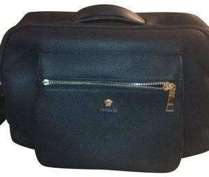 Versace Dark Blue Travel Bag