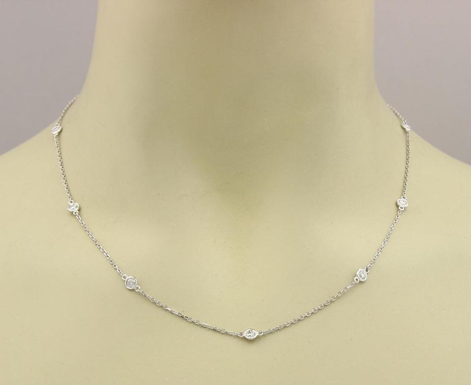 solitaire white jewelry gold princess in necklace fascinating cut wg diamond with pendant nl platinum ct