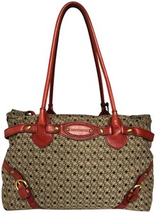 Coccinelle Satchel in Brown/Red