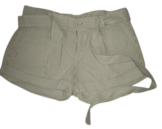 7 mankind Mini/Short Shorts searsucker pin striped