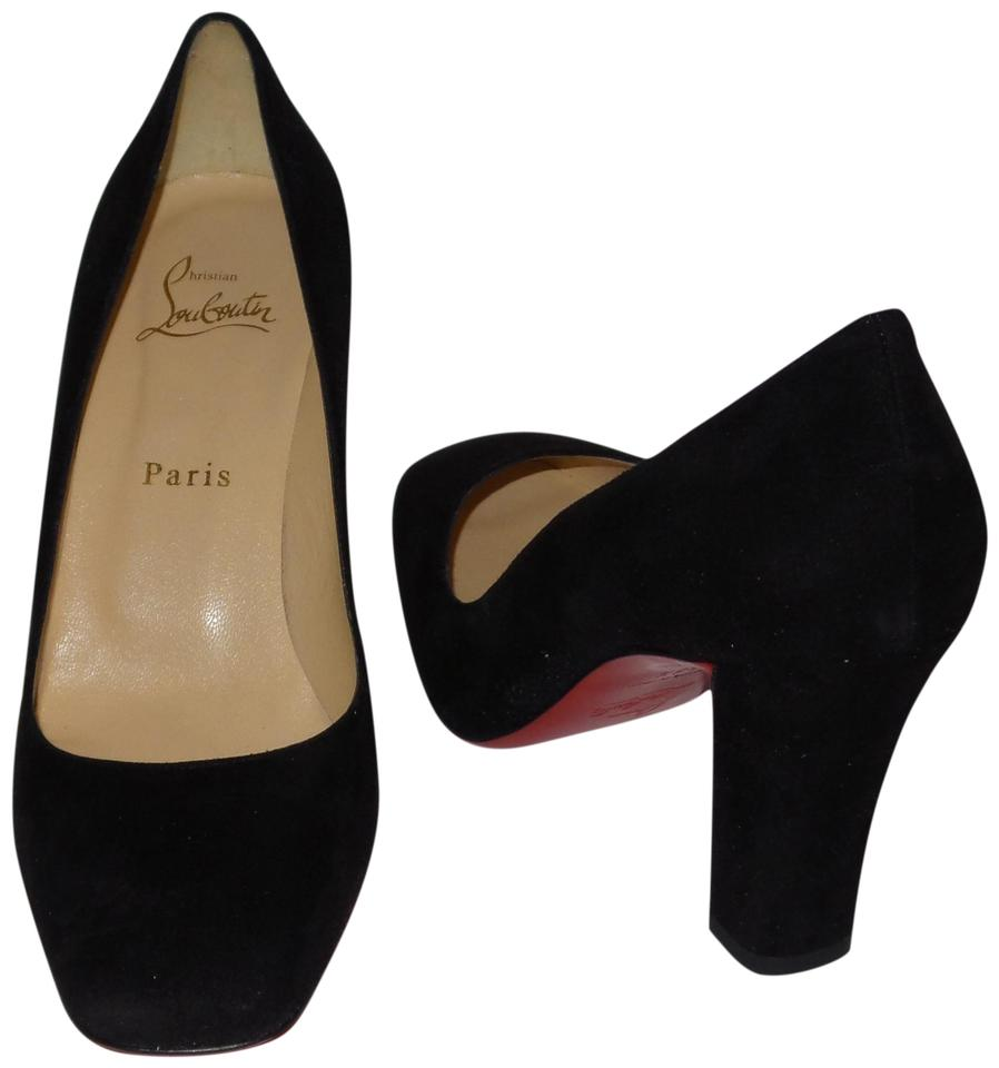 info for 1095c 9f616 Christian Louboutin Black Cadrilla 70 Patent Leather Pumps Size EU 38.5  (Approx. US 8.5) Regular (M, B)