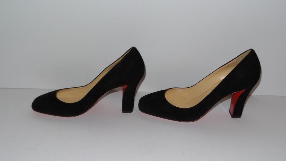 info for ab5fd 8c6a3 Christian Louboutin Black Cadrilla 70 Patent Leather Pumps Size EU 38.5  (Approx. US 8.5) Regular (M, B)