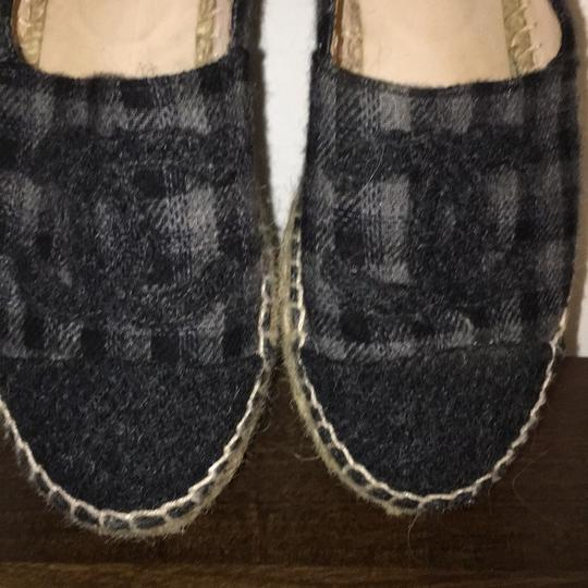 Chanel black and grey Flats Image 2