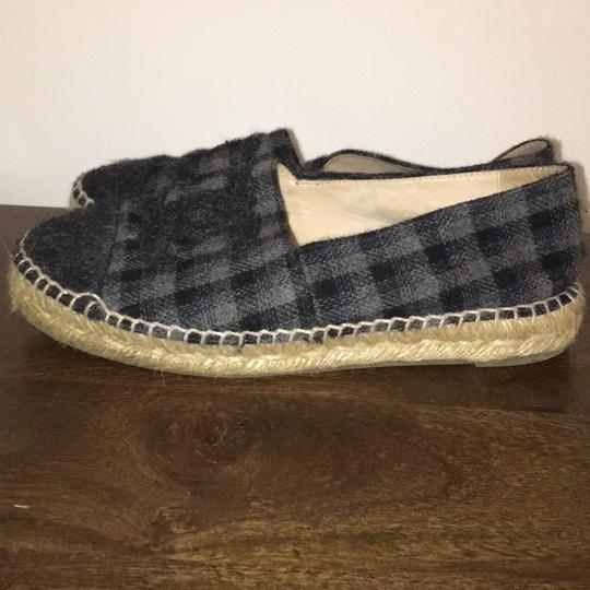Chanel black and grey Flats Image 4