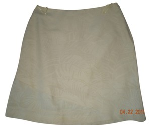 Tommy Bahama Linen Skirt yellow