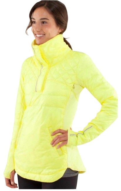Item - Yellow What The Fluff Pullover Down Jacket Size 4 (S)