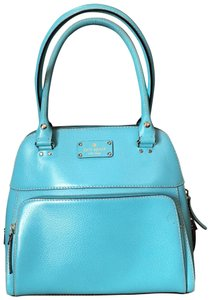 Kate Spade Satchel in Robins Egg Blue/Turquoise