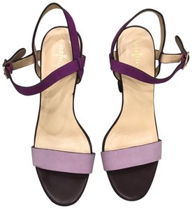 Cole Haan Lilac Chunky Strappy Purple Sandals