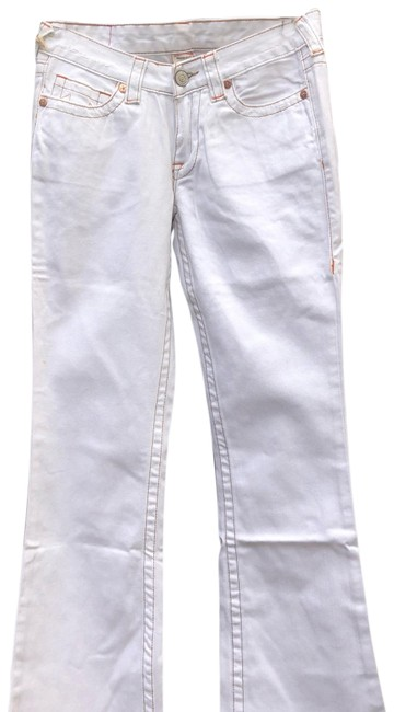 Item - White Bobby Boot Cut Jeans Size 6 (S, 28)