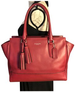 Coach Satchel in Red