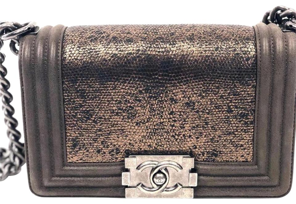 4a246a3c5463 Chanel Boy Metiers D'art Collection Limited Edition Bronze ...