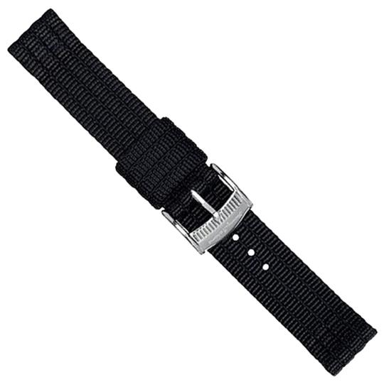 Tommy Bahama Tommy Bahama Watch Band 13mm Black TBNSL13BLK Black