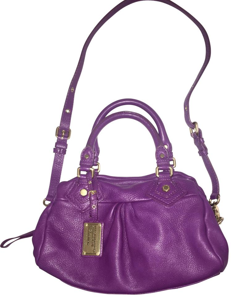 7adebfa4fd7f Marc by Marc Jacobs Classic Q Baby Groovee Leather Satchel - Tradesy