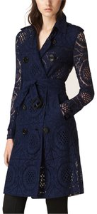 Burberry London Lace Summer Spring Trench Coat