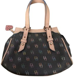 Dooney & Bourke Charcoal gray Beach Bag