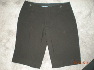 banana republic Bermuda Shorts black