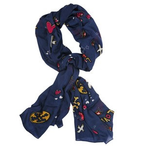 Tory Burch Tory Burch Scarf Peace Oblong Wool