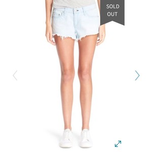 Rag & Bone Denim Shorts-Light Wash