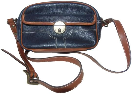 Preload https://img-static.tradesy.com/item/23327194/camera-shoulder-or-navy-blue-and-british-tan-soft-pebble-leather-with-straps-cross-body-bag-0-2-540-540.jpg